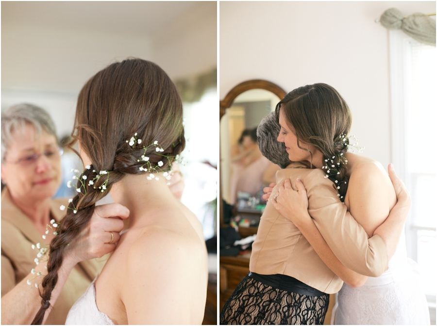bride getting ready, southern wedding photographers