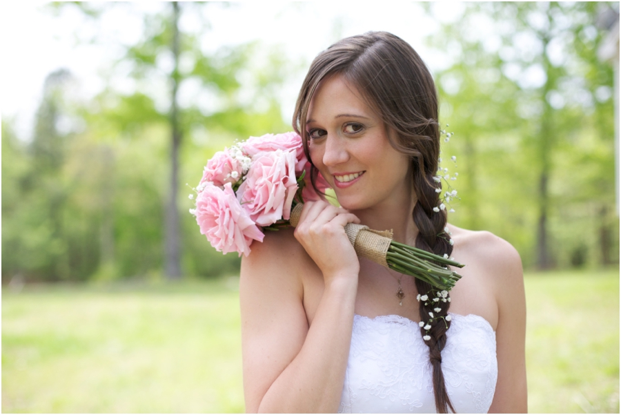 southern bridal portraits, spring wedding photography