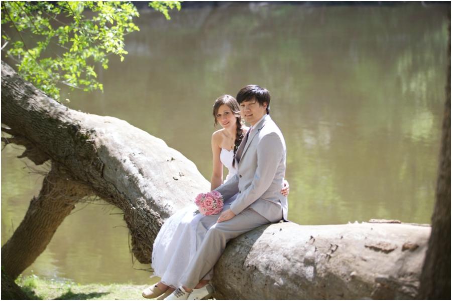 woodsy wedding photography, raleigh nc