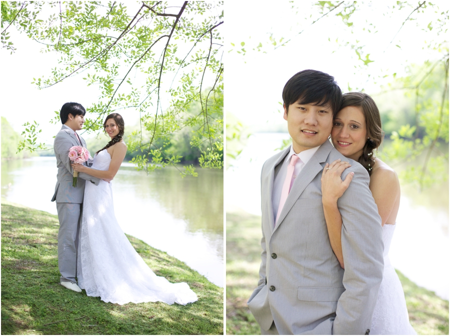 riverside wedding portraits, southern raleigh nc wedding photographers