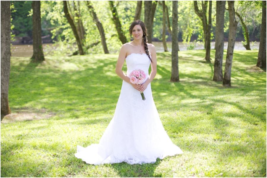 beautiful spring bridal photography, raleigh nc