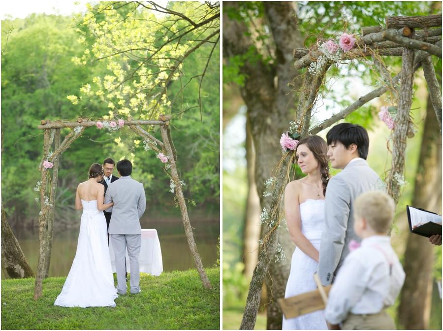rustic spring wedding, woodsy wedding photography, southern wedding photographers
