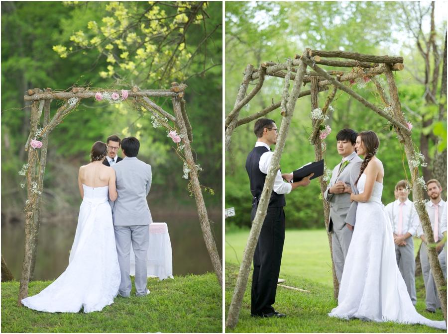 beautiful spring wedding photography, rustic wedding photographers