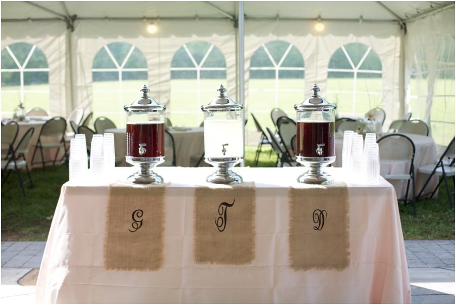 rustic wedding reception inspiration, southern wedding photography