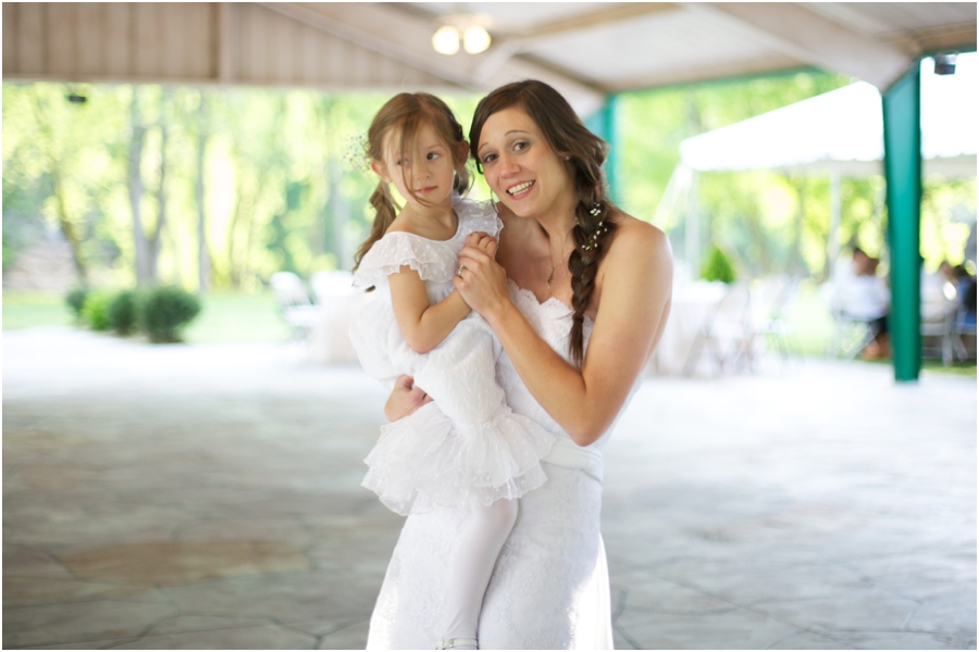 bride dancing with flowergirl, southern wedding photographers