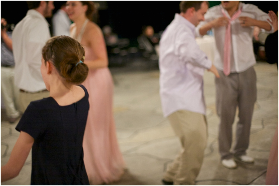 guest dancing at wedding reception, southern wedding photographers
