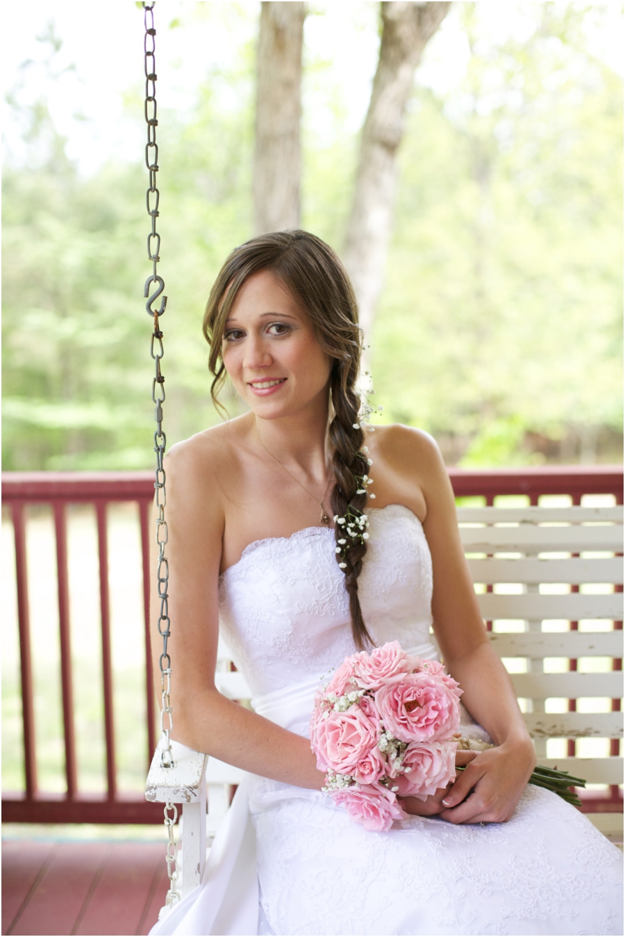 beautiful southern bridal photography, rustic wedding photographers