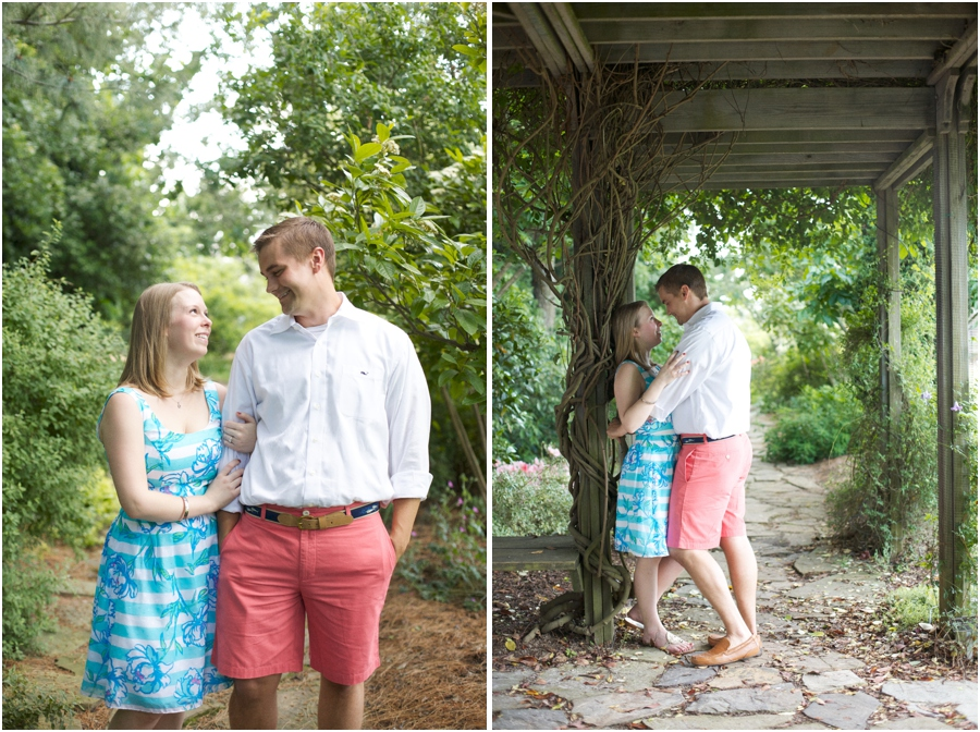 southern couple's photography, intimate engagement photographers