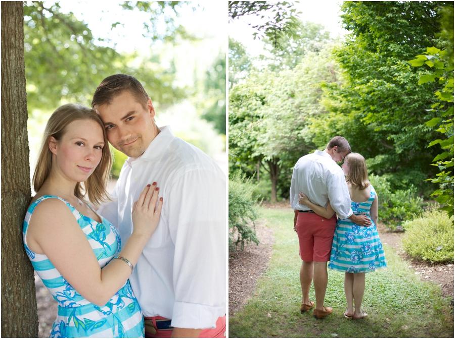 best north carolina engagement photography, romantic engagement portraits