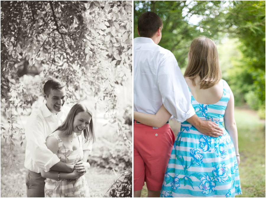 black and white engagement photography, romantic engagement photographers