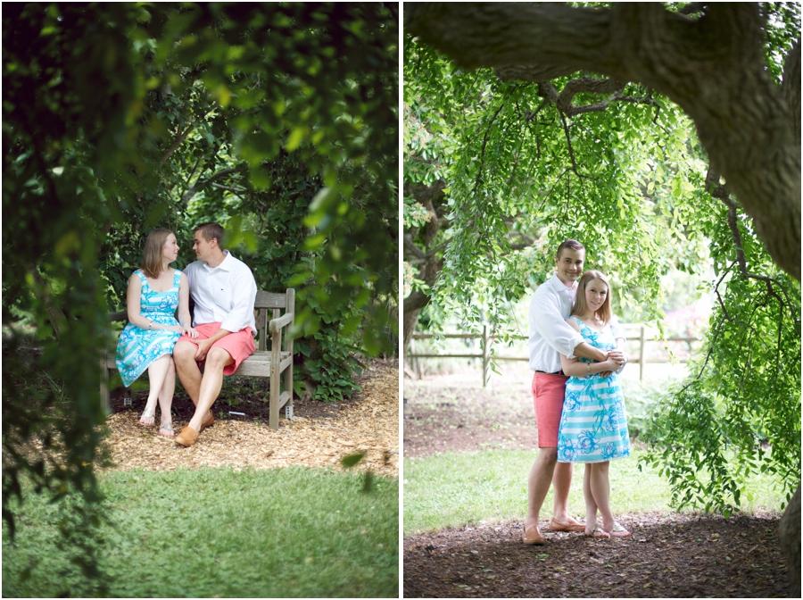 romantic north carolina engagement photography, southern engagement photographers