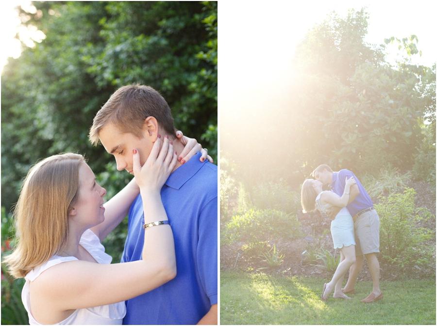intimate engagement photography, beautiful sunlit engagement photography