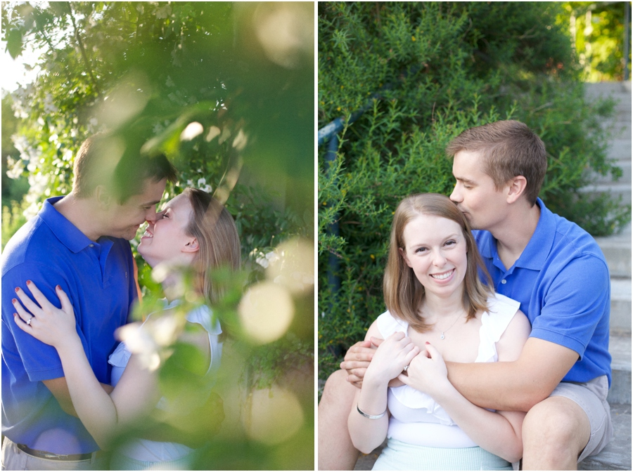 southern engagement photography, summer engagement photography
