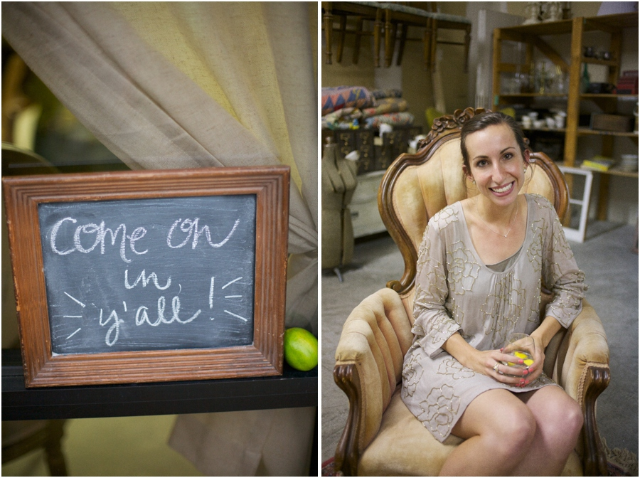 wood framed chalkboard, Simply Put Vintage warehouse party