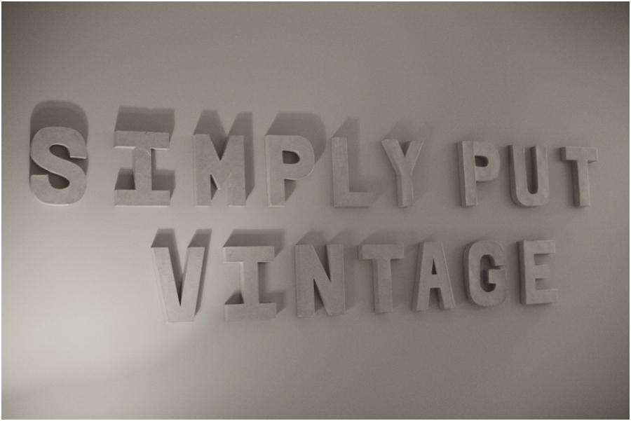 Simply Put Vintage, raleigh nc vintage rentals