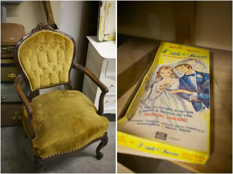 vintage furniture rentals, vintage chair, simply put vintage rentals, vintage wedding photographers