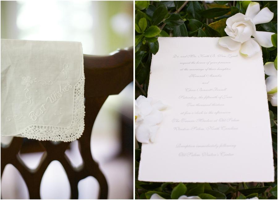 embroidered wedding handkerchiefs, elegant wedding programs
