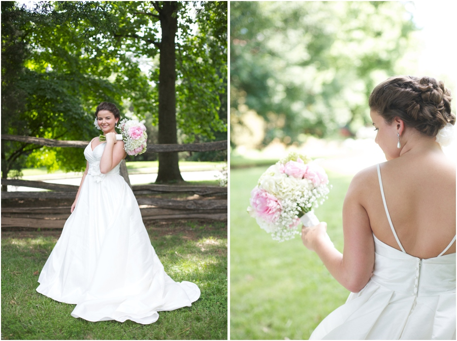 rustic bridal photography, southern wedding photographers