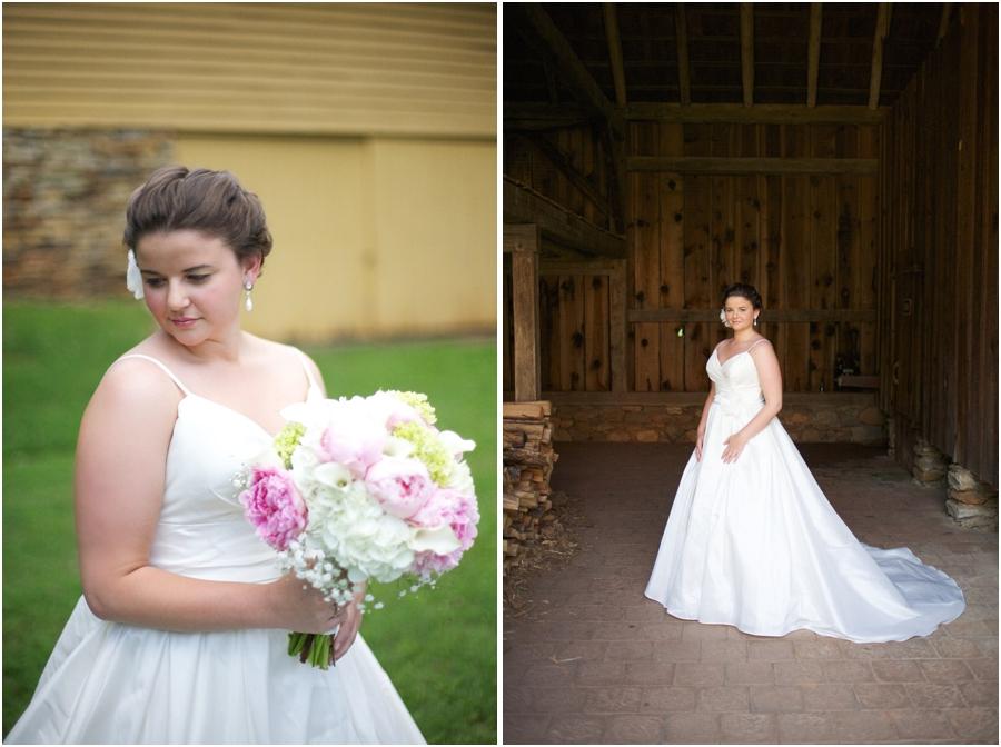 old salem bridal photography, rustic bridal photographers