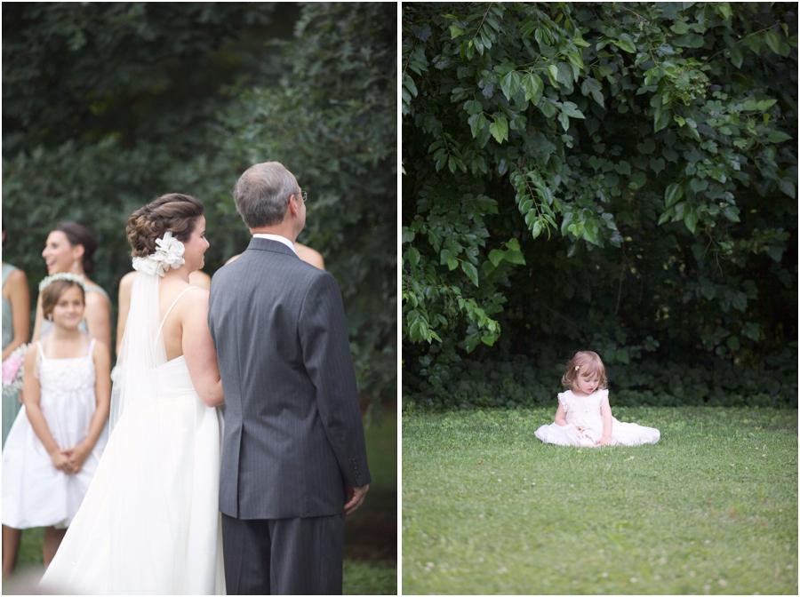 southern wedding photographers, flower girl photography