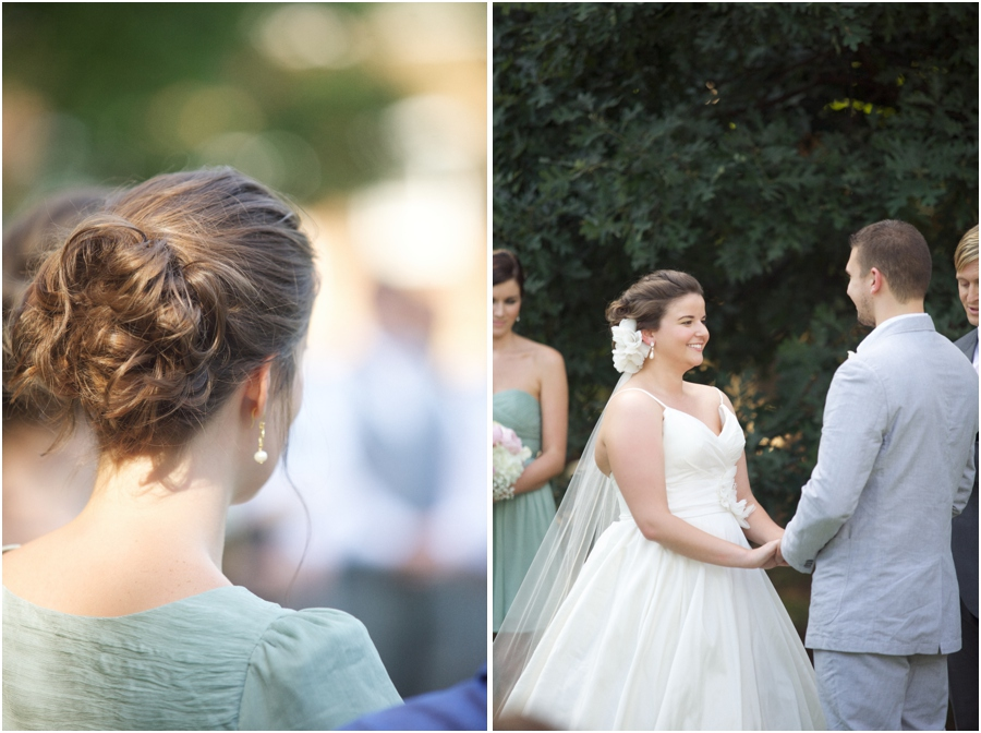 pretty bridesmaid hairstyles, southern wedding photographers