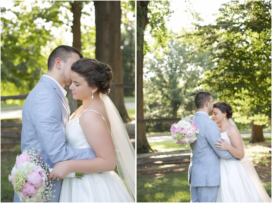 romantic wedding portraits, southern wedding photographers