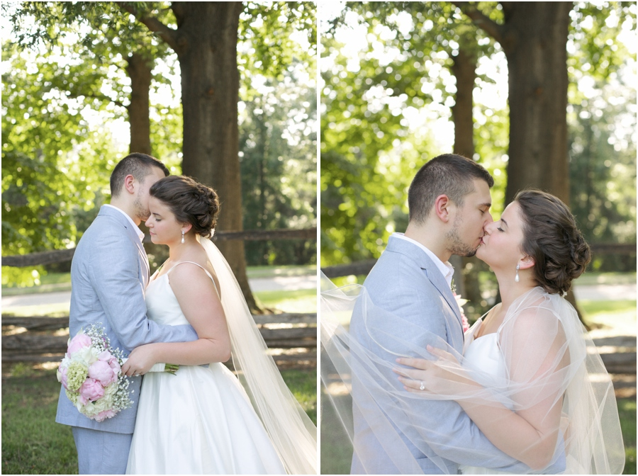 romantic southern wedding portraits, intimate southern wedding photography
