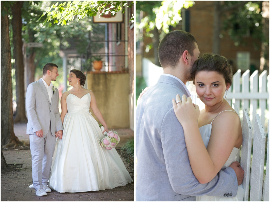 cute old salem wedding photography, southern wedding photographers