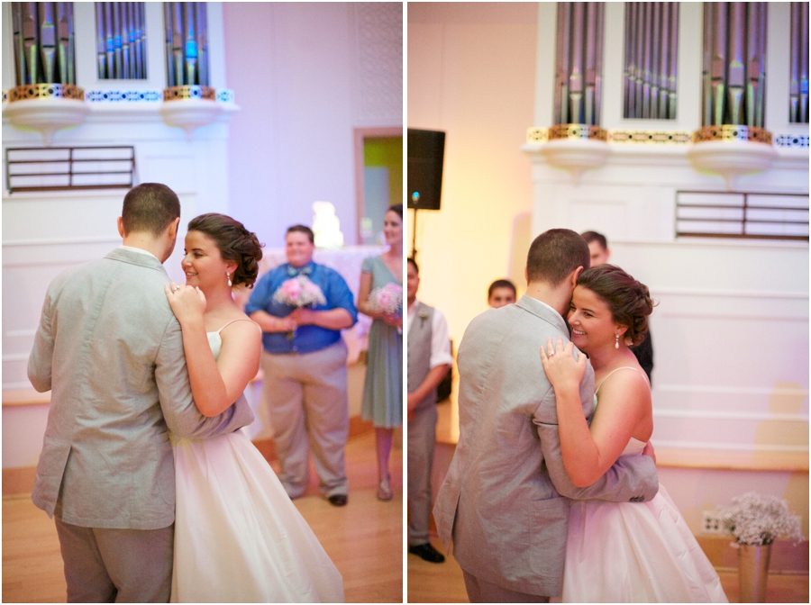romantic first dance photography, southern wedding photographers