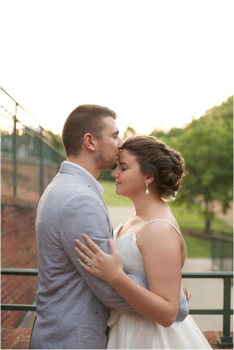 sunset wedding photography, winston salem nc