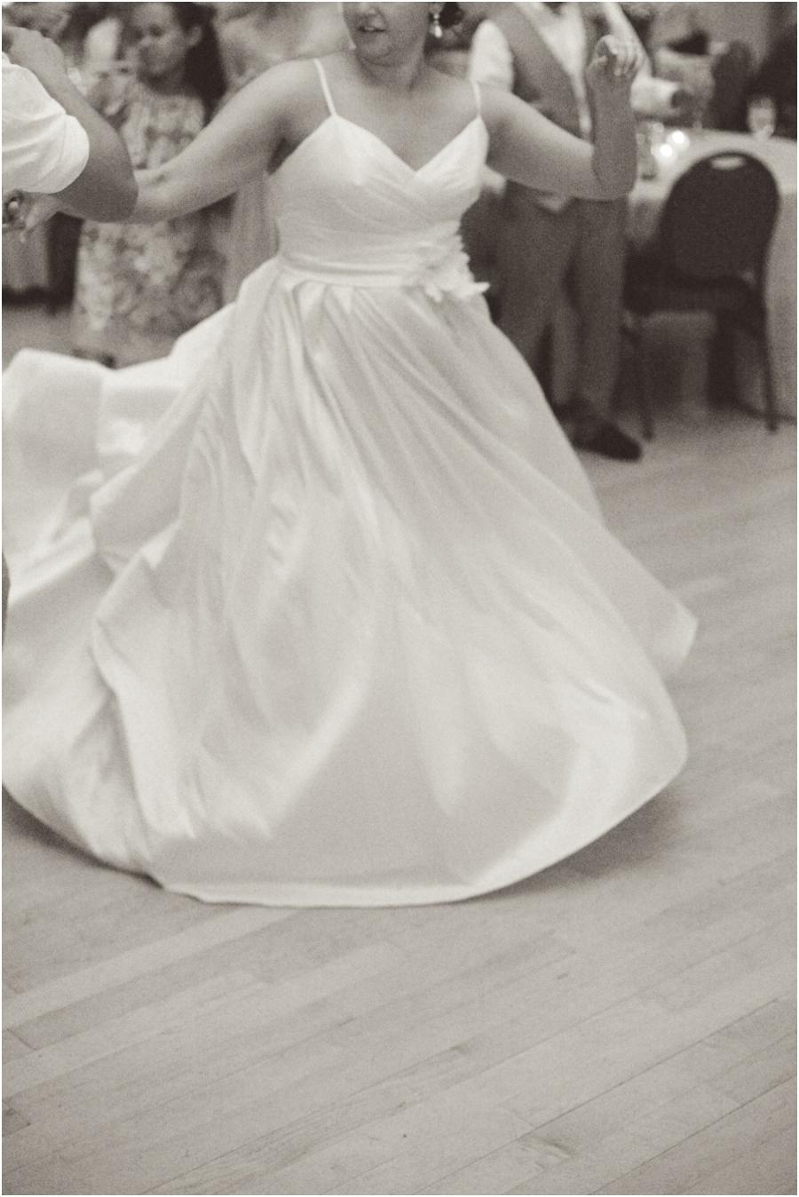 bride twirling on the dancing floor, vintage wedding photographers