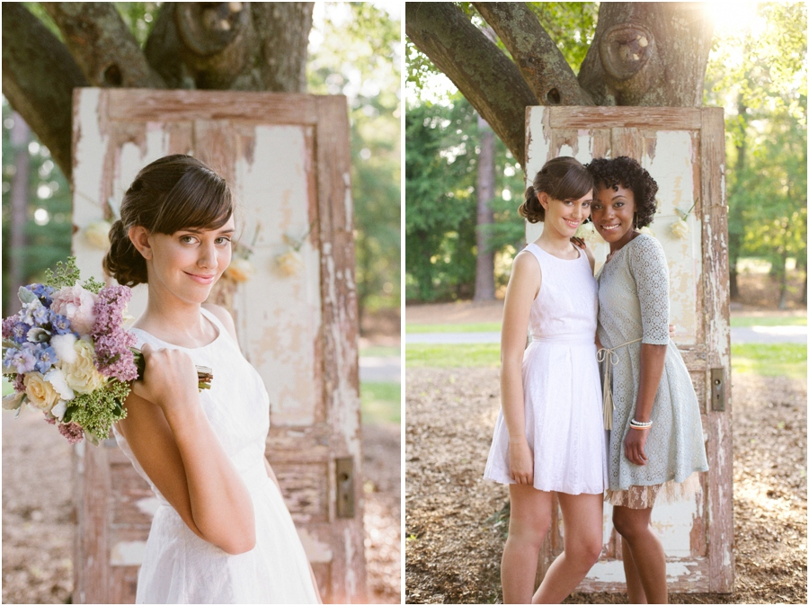 rustic bridal photography, vintage editorial photographers