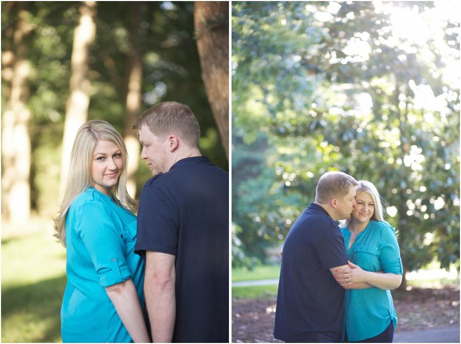 outdoor engagement photography, romantic engagement photographers
