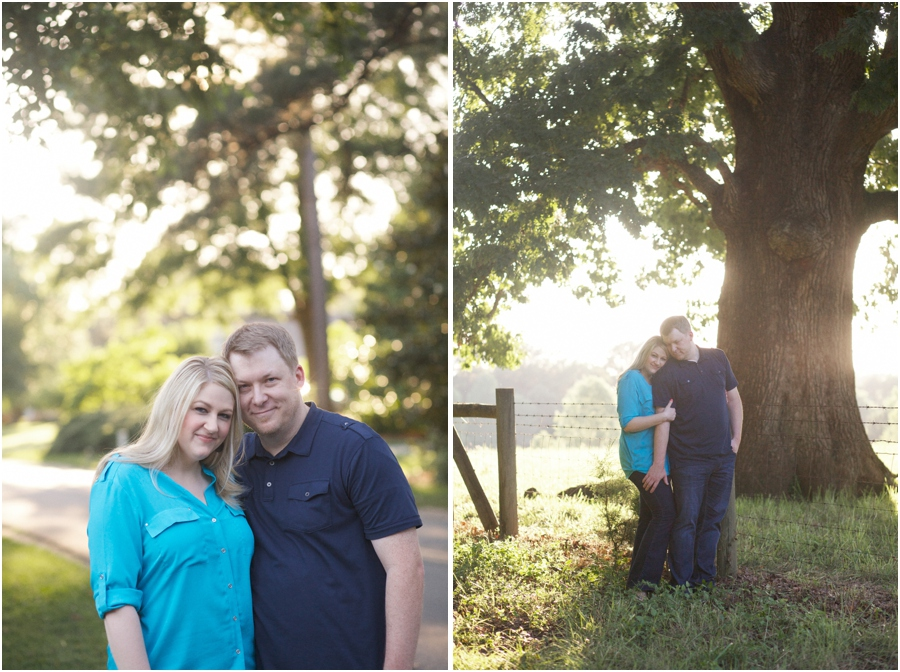raleigh nc engagement photographers, rustic engagement photography