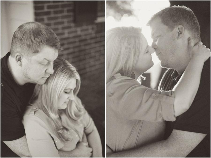 vintage engagement photographers, intimate engagement photography