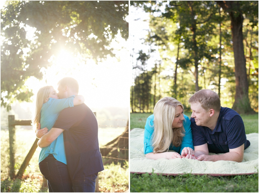 beautiful outdoor couple's portraits, cute engagement poses, southern engagement photographers