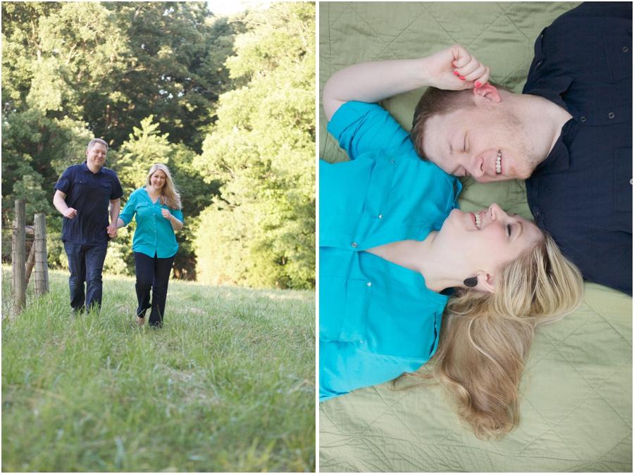 romantic engagement photography, north carolina engagement photographers