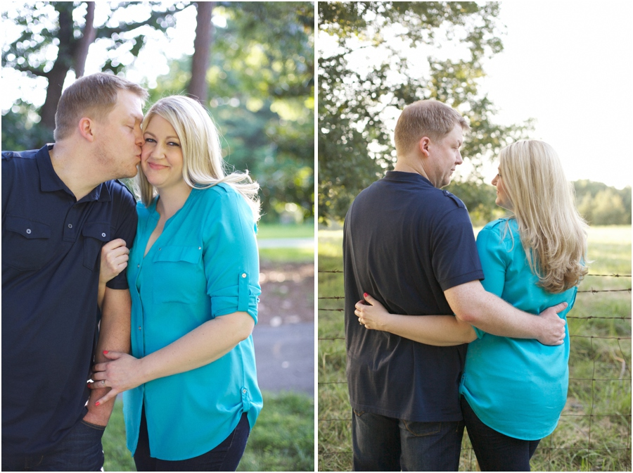 romantic north carolina engagement photography, southern couple's photography