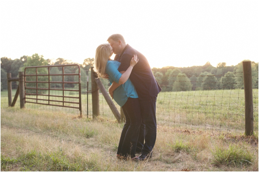 romantic southern engagement photography, raleigh nc