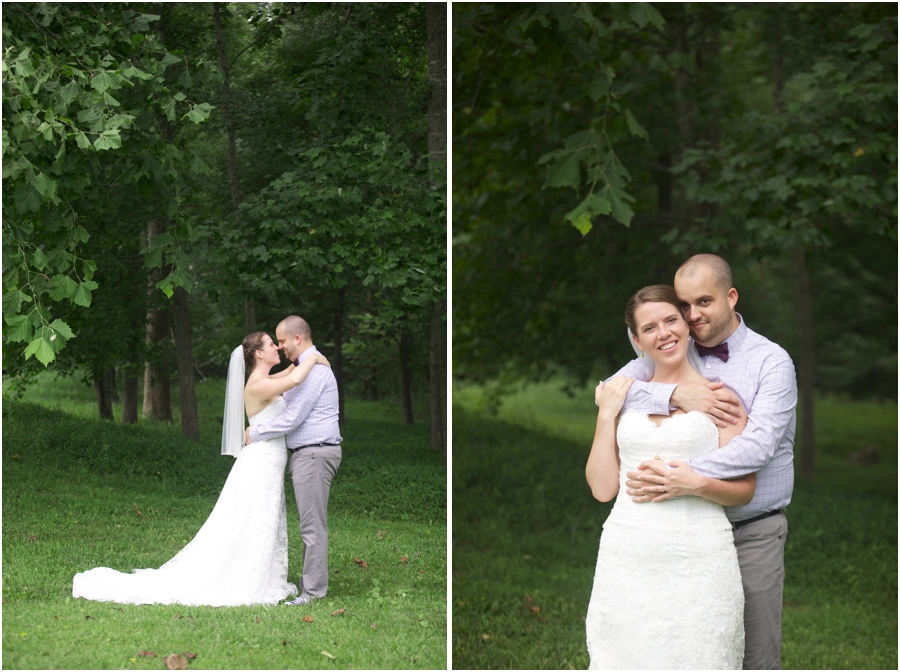 rustic first look photography, southern wedding photographer, raleigh nc