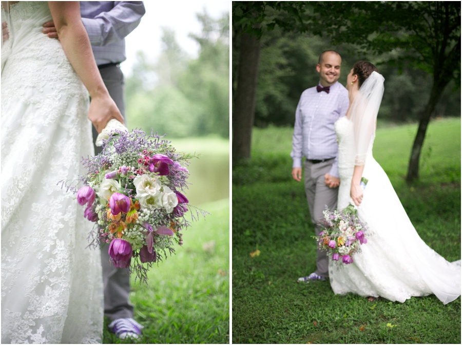southern wedding photography, rustic first look photographer, raleigh nc