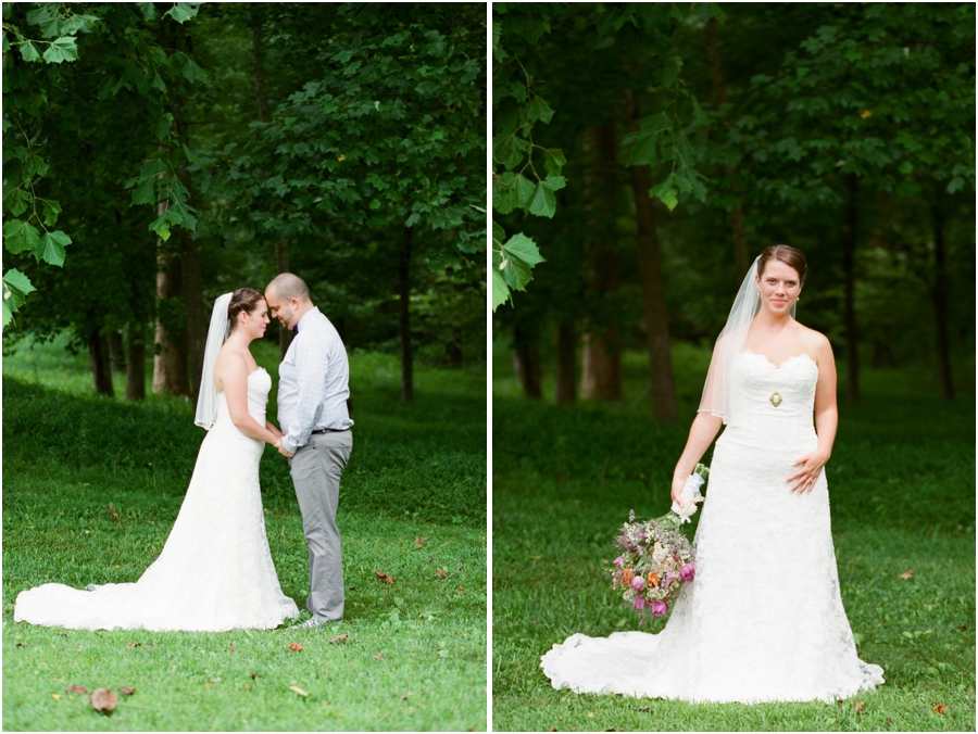 woodsy first look photography, rustic bridal photographer, raleigh nc