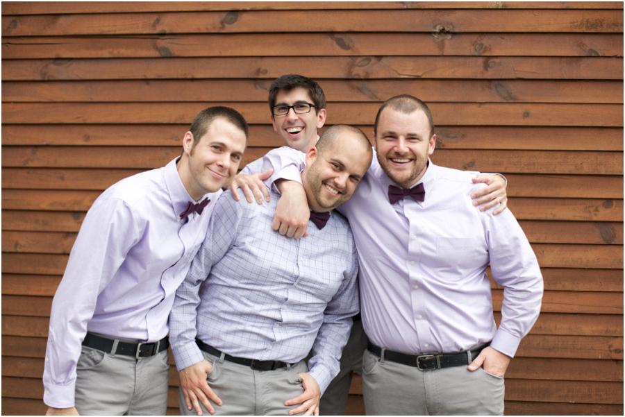 fun groomsmen poses, southern weddings, rustic wedding photography, raleigh nc