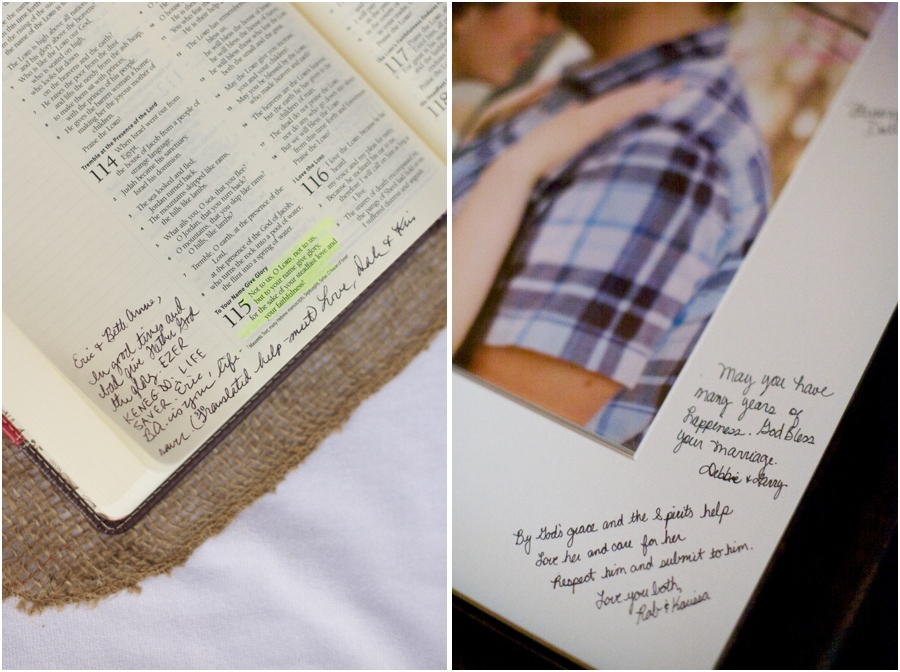 unique guest book ideas, southern wedding photography, raleigh nc