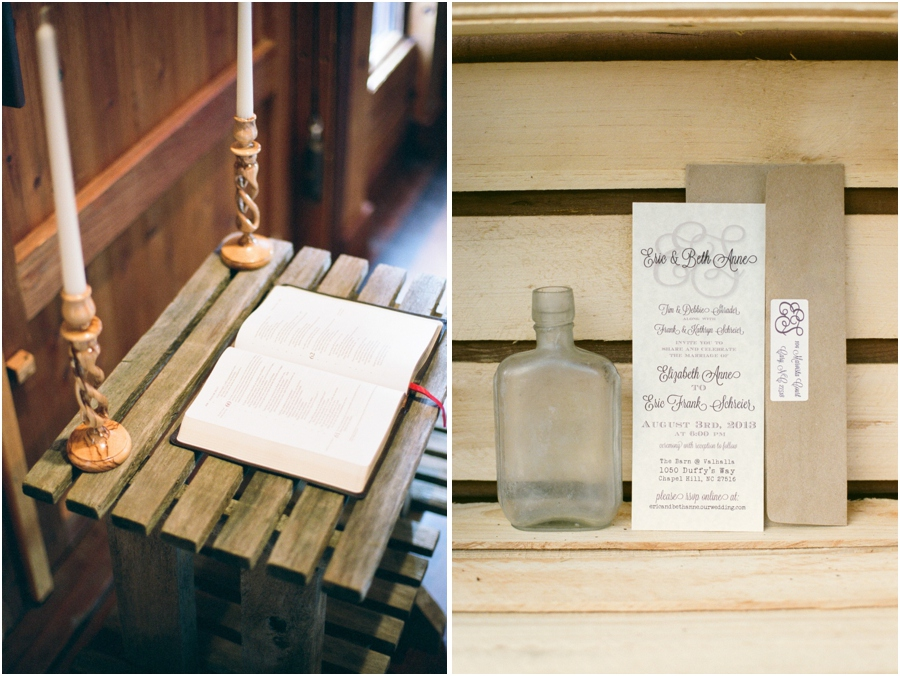 rustic weddings, vintage wedding photographer, raleigh nc