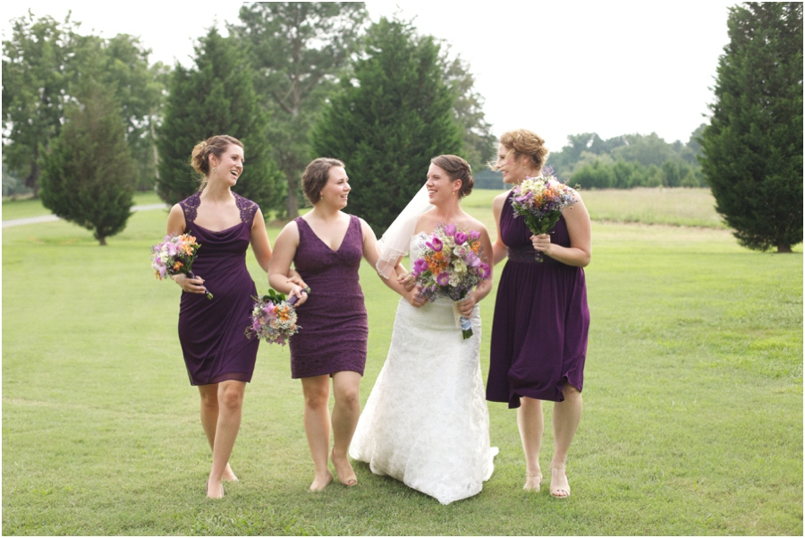 southern weddings, fun bridal party poses, southern wedding photographer, raleigh nc