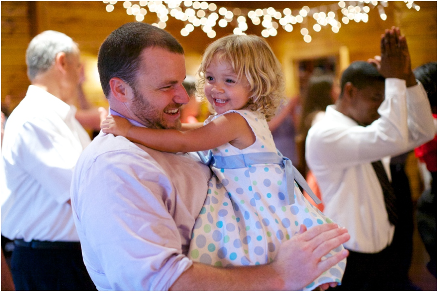 guests at wedding reception, raleigh nc southern wedding photography