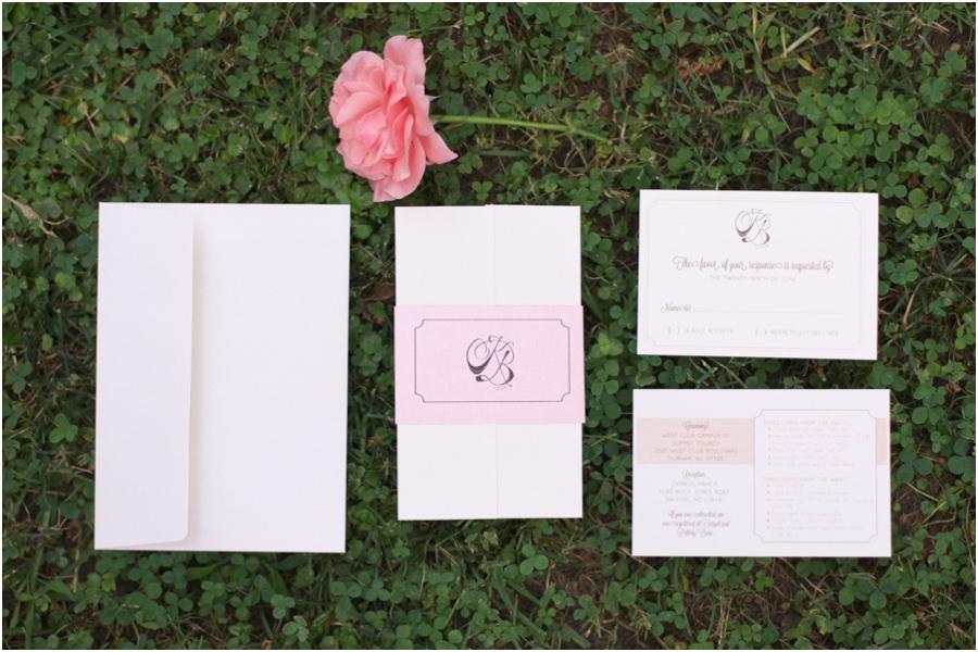 elegant wedding stationary, southern wedding photographers