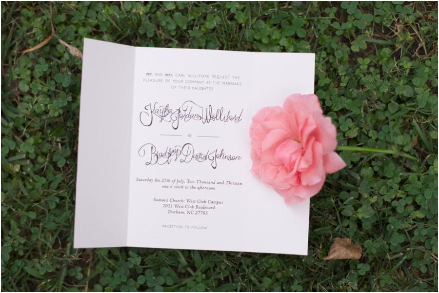 southern wedding stationary, north carolina wedding photographers