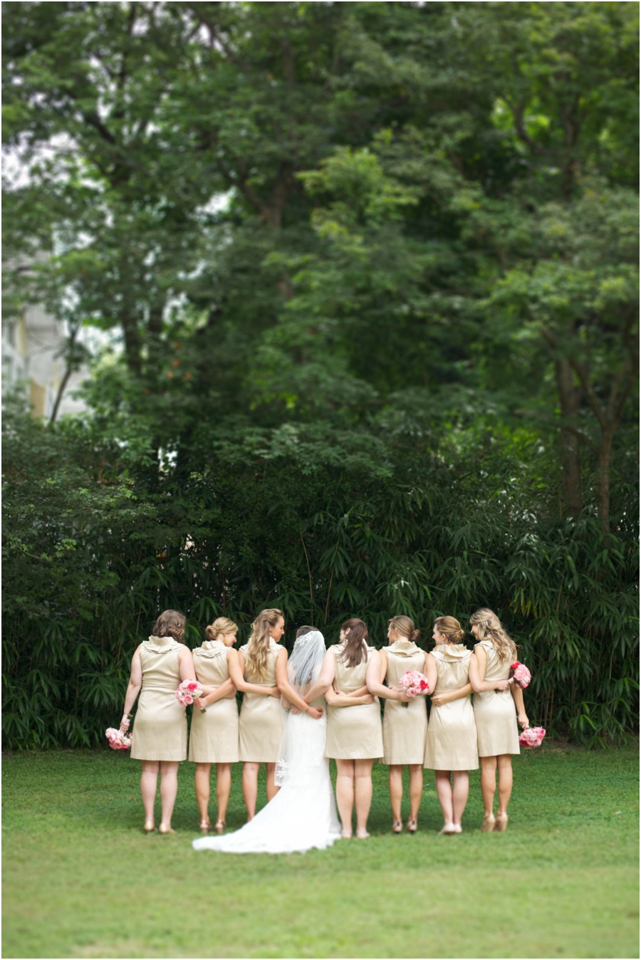cute bridal party poses, southern wedding photographers, raleigh nc